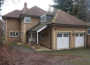 Thumbnail 5 bedroom detached house for sale in Old Great North Road, Stibbington, Peterborough