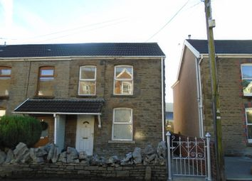 Thumbnail 2 bed semi-detached house for sale in Brecon Road, Pontardawe, Swansea.