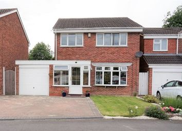Thumbnail 3 bed detached house for sale in Woodbury Road, Halesowen
