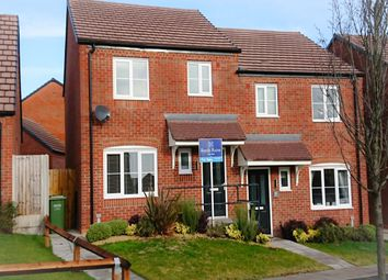 Thumbnail 3 bed semi-detached house for sale in Ypres Way, Evesham