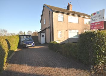 Thumbnail 3 bedroom semi-detached house for sale in Thorncroft Drive, Heswall, Wirral