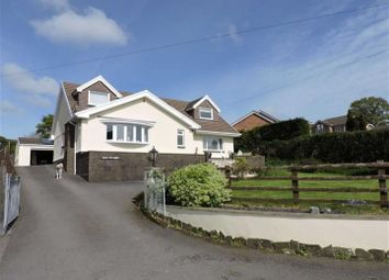 Thumbnail 4 bed detached house for sale in Ebenezer Road, Llanedi, Swansea