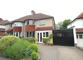 Thumbnail 4 bed semi-detached house to rent in Manor Green Road, Epsom