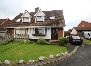Thumbnail 3 bed semi-detached house for sale in Carlton Heights, Bangor
