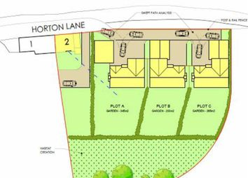 Thumbnail Land for sale in White Row, Horton, Telford