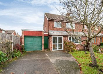 Thumbnail 3 bed semi-detached house for sale in Cavendish Road, Stowmarket
