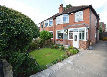 Thumbnail 3 bedroom semi-detached house for sale in Stonegate Road, Meanwood, Leeds, West Yorkshire