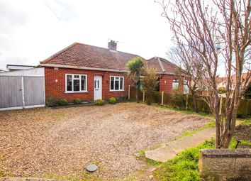 Thumbnail 2 bed semi-detached bungalow for sale in Charles Avenue, Thorpe St. Andrew, Norwich