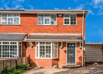 Thumbnail 3 bed semi-detached house for sale in Gorsemoor Road, Heath Hayes, Cannock