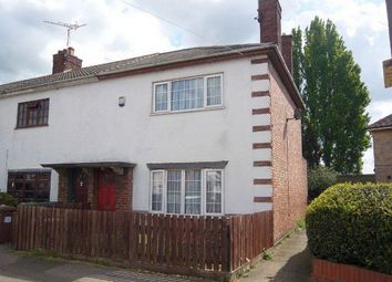 Thumbnail 2 bed terraced house to rent in Fane Road, Peterborough