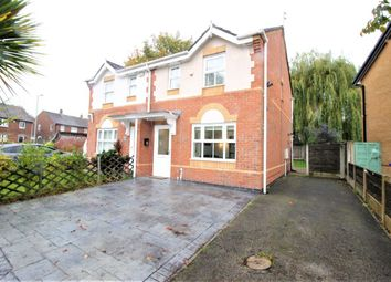 Thumbnail 3 bed semi-detached house for sale in Rissington Avenue, Baguley, Wythenshawe, Manchester