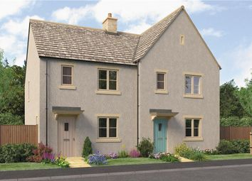 "Thumbnail 3 bedroom semi-detached house for sale in ""Kemble"" at Quercus Road, Tetbury"