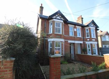 Thumbnail 3 bed semi-detached house for sale in Wycombe Road, Stokenchurch, High Wycombe