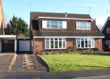 Thumbnail 2 bed semi-detached bungalow for sale in Albermarle Road, Kingswinford