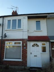 Thumbnail 2 bed terraced house to rent in Moorhouse Road, Hull