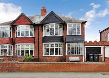 Thumbnail 3 bed semi-detached house for sale in The Broadway, North Shields