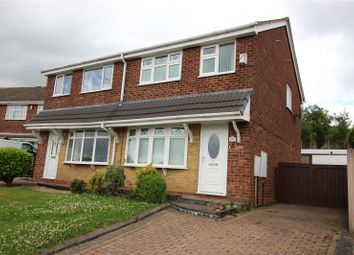 Thumbnail 3 bed semi-detached house for sale in Houseman Drive, Weston Coyney, Stoke On Trent