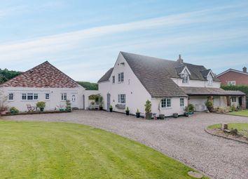 Thumbnail 5 bed farmhouse for sale in Sycamore Farm, Heathfield Road, Webheath, Redditch