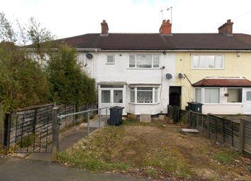 Thumbnail 3 bed terraced house for sale in Eastham Road, Billsley, Birmingham