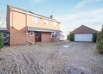 Thumbnail 4 bed detached house for sale in Woodside Avenue, Heacham, King's Lynn