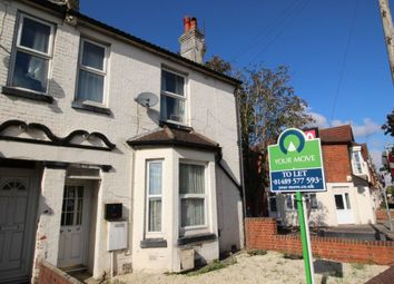 Thumbnail 2 bed flat to rent in Southampton Road, Eastleigh