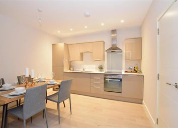 Thumbnail 2 bed flat for sale in White Lion Close, East Grinstead, West Sussex