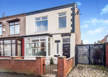 Thumbnail 3 bed end terrace house for sale in Ovolo Road, Stoneycroft, Liverpool