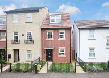 Thumbnail 3 bed town house for sale in Sovereign Walk, Corby