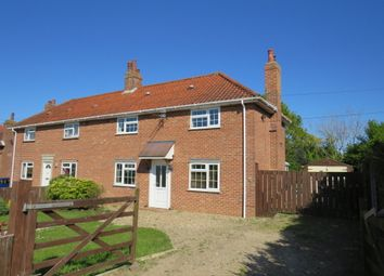 Thumbnail 4 bed semi-detached house for sale in Manor Road, Long Stratton, Norwich