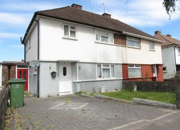 Thumbnail 3 bedroom semi-detached house for sale in Heol Eglwys, Cardiff