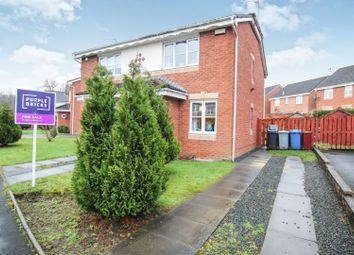 Thumbnail 2 bed semi-detached house for sale in Magnolia Drive, Glasgow