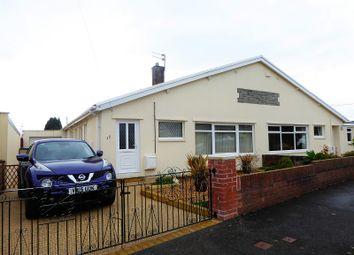 Thumbnail 3 bed semi-detached bungalow for sale in Castle View, Bridgend, Bridgend.