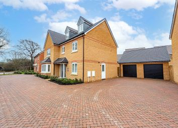 Thumbnail 5 bed detached house for sale in Meridian Gate, Newmarket Road, Royston