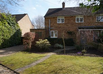 Thumbnail 3 bed semi-detached house for sale in Overstone Crescent, Overstone, Northampton
