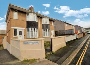 Thumbnail 3 bed semi-detached house for sale in Desborough Road, Plymouth, Devon