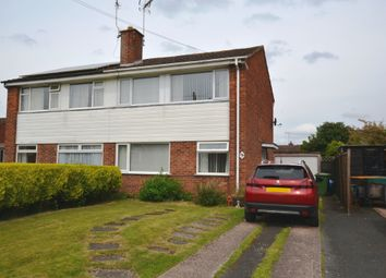 Thumbnail 3 bed semi-detached house for sale in Rowan Road, Market Drayton