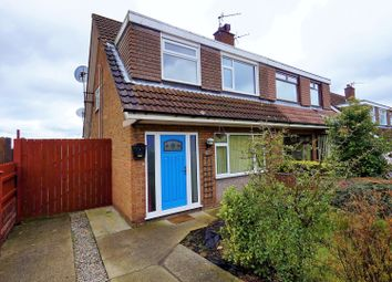 Thumbnail 3 bed semi-detached house for sale in Derwent Drive, Bangor