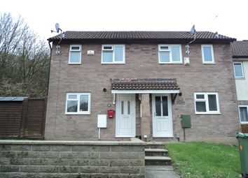 Thumbnail 1 bed semi-detached house for sale in Lauriston Close, Caerau, Cardiff