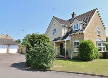 Thumbnail 4 bed detached house for sale in Brewers Close, Longstanton, Cambridge