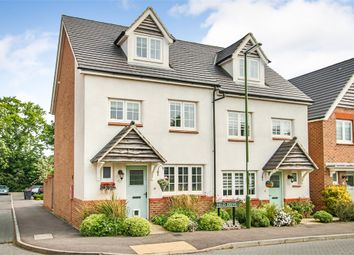 Thumbnail Semi-detached house for sale in Field Drive, Crawley Down, West Sussex