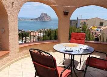 Thumbnail 4 bed chalet for sale in Calp, Alicante, Spain
