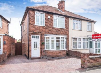 Thumbnail 3 bedroom semi-detached house for sale in Henley Crescent, Braunstone Town, Leicester