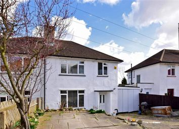 Thumbnail 3 bedroom semi-detached house for sale in Chipstead Road, Erith, Kent