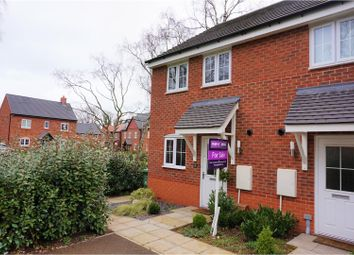Thumbnail 2 bed semi-detached house for sale in Hollingworth Close, Stone