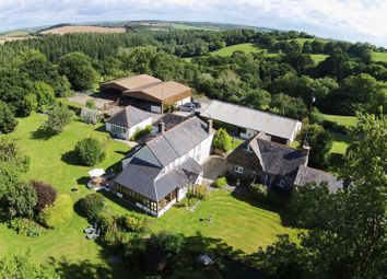Thumbnail 7 bed equestrian property for sale in Pillaton, Cornwall