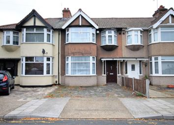 Thumbnail 3 bed terraced house to rent in Kingsmead Avenue, Romford