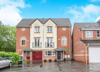Thumbnail 4 bed semi-detached house for sale in Turnpike Lane, Brockhill, Redditch, Worcestershire