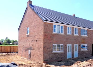 Thumbnail 2 bed end terrace house for sale in Sutton Road, Walpole Cross Keys, Kings Lynn, Norfolk