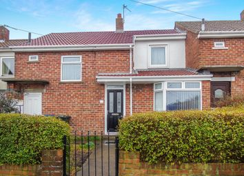 Thumbnail 2 bed terraced house for sale in Bideford Road, Kenton, Newcastle Upon Tyne