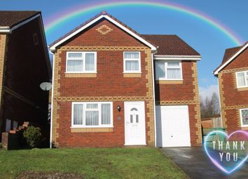 Thumbnail 4 bed detached house for sale in North Rising, Pontlottyn, Caerphilly Borough